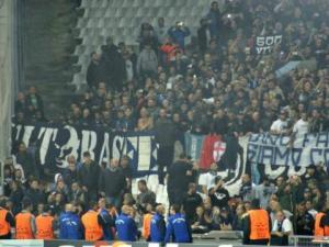 Gli ultras napoletani a Marsiglia