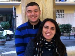 Domenico Marotta e sua moglie Serena